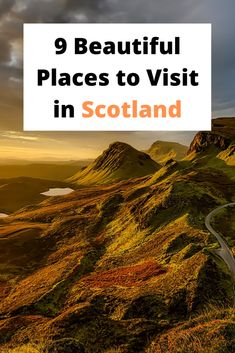 9 Beautiful places to visit while on a holiday/trip to Scotland. Where to go in Scotland, how to get there and what to do after. Wanderlust Travel, Asia Travel, Travel Tips, Beautiful Places To Visit, Cool Places To Visit, Holiday Travel, Holiday Trip, Kids Around The World, Europe Destinations