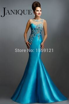 Cheap formal gowns, Buy Quality formal gowns for women directly from China gown for women Suppliers: 2017 Turquoise Blue Evening Dresses Sexy Mermaid Sheer Bateau Lace Beading Customized Formal Gowns For Women Evening Dress 2015, Blue Evening Dresses, Mermaid Evening Dresses, Prom Dresses, Evening Party, Beautiful Evening Gowns, Beautiful Dresses, Classy Dress, Formal Gowns