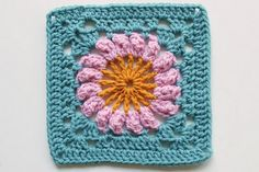 A granny square a day for one year! Square #69 by craftyminx, via Flickr