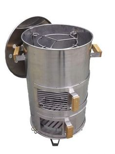 Oven Diy, Diy Pizza Oven, Diy Grill, Fire Cooking, Outdoor Cooking, Smoking Cooking, Ugly Drum Smoker, Barrel Grill, Custom Bbq Pits