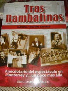 TRAS BAMBALINAS   MANUEL TREVIÑO SALINAS  MEJORESLIBROS