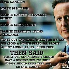 One rule for the Tories and another for the rest of us