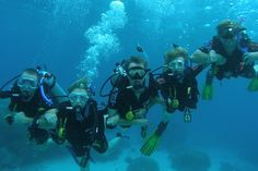 Scuba Diving -The Great Barrier Reef in Australia