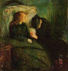 Edvard Munch: La niña enferma (1896)