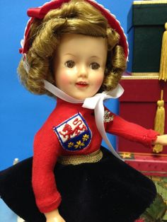 """RARE Original 12"""" Ideal Shirley Temple Doll in Her Ice Skater Outfit   eBay"""
