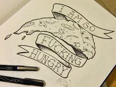 <3 #pizza #ink