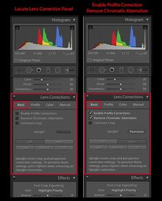 How to Fix Chromatic Aberration in Lightroom 5