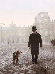 Men And Their Dogs - painters-in-color:   Gustave Caillebotte and his...