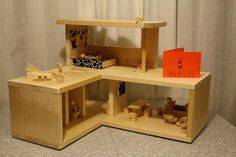 modern dollhouse hack | Modern Dollhouse by Shoot From the Hips, via Flickr