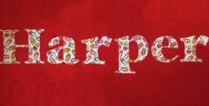 Flip Flops Personalized Applique Towel by damselinadress on Etsy, $30.00