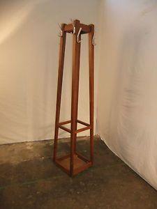 Vintage Teak Coat And Hat Stand | eBay Hall Stand, Hallway Furniture, Foyer, Teak, Retro Vintage, Home Decor, Coat Racks, Decoration Home, Room Decor
