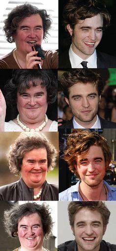 Celebrity look alikes cartoons characters