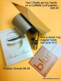 Blur Makeup Room: Cufflette and stylist ring/thumb palette now in stock in Blur Makeup Room!:)