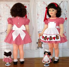 Vogue Ginny GINGERBREAD COOKIES with MATCHING ENSEMBLE for PATTI PLAYPAL | eBay