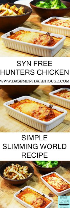 Syn Free Slimming World Hunters Chicken - Basement Bakehouse - Slimming world -. - Syn Free Slimming World Hunters Chicken – Basement Bakehouse – Slimming world -…- Syn Fr - Easy Slimming World Recipes, Slimming World Dinners, Slimming Eats, Slimming World Syns, Slimming World Lunch Ideas, Slimming World Fakeaway, Slimming World Breakfast Ideas Quick, Slimming World Bbq Sauce, Slimming World Hunters Chicken