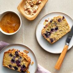 Blueberry-Lemon Zucchini Bread - EatingWell.com