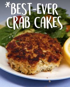 Best Seafood Recipes, Healthy Dinner Recipes, Appetizer Recipes, Cooking Recipes, Cooking Crab, Seafood Appetizers, Grilling Recipes, Delicious Recipes, Crab Cake Recipes