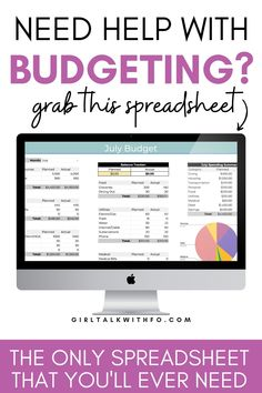Monthly Budget Planner, Excel Budget, Budget Spreadsheet, Budget Binder, Budgeting Finances, Budgeting Tips, Ways To Save Money, Money Saving Tips, Tracking Expenses