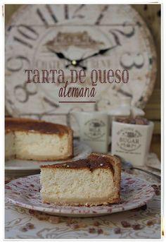 Tarta de queso alemana {by Paula, Con las Zarpas en la Masa}