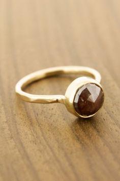2.16 Carat Maroon Diamond Ring