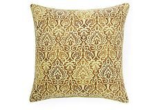 Jiti Jaipur 20x20 Outdoor Pillow, Green on OneKingsLane.com