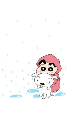 Having fun in rain with sherow😀😀😀 Sinchan Wallpaper, Disney Phone Wallpaper, Cute Wallpaper For Phone, Kawaii Wallpaper, Crayon Shin Chan, Doraemon Wallpapers, Joker Wallpapers, Cute Cartoon Wallpapers, Sinchan Cartoon