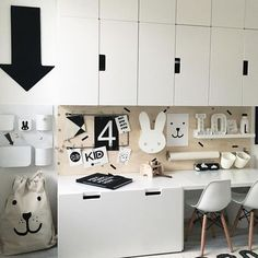 Storage for small bedrooms Ikea Kids Room, Kids Bedroom, Kids Room Design, Kids Corner, Kid Spaces, Girl Room, Room Inspiration, Family Room, Interior