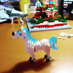 #unicorn #wolf #nanoblock