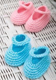 Dress-Up Booties By Marilyn Coleman - Free Crochet Pattern - (ravelry)