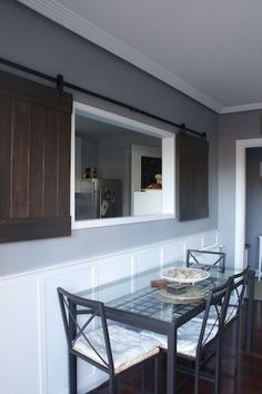 Image Result For Wall With A Pass Through With Shutters