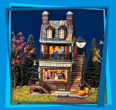 Department 56 Halloween Village Helga's House of Fortunes