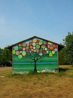 Mural loveliness.