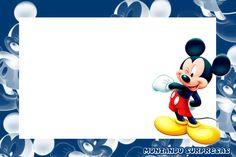 Montando Surpresas: Moldura linda do Mickey gratuita para baixar