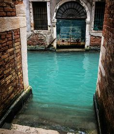 Turquoise canal in Venice Italy  #earthpics by TheVoyaging via @PreciousPlanet by earthpics