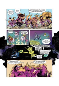 """Page 8 of """"Eye Eye Eye"""" comic written by Ian """"Simpsons"""" Boothby, drawn by Toren Atkinson, colors Tanya Lehoux, letters Christopher Barrett World Wildlife Federation, Cant Take Anymore, Letters, Draw, Let It Be, Superhero, Eyes, Comics, Can't Take Anymore"""