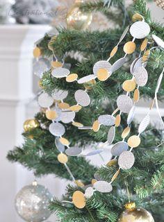 DIY Sparkle Confetti Garlands | Centsational Girl