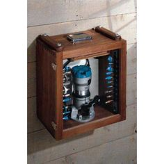 Traveling Router Table / Router Bit Cabinet Downloadable Plan