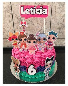 #bolololsurprise - читать и смотреть фото и хештеги, узнать что это за тренд Doll Birthday Cake, Kylie Birthday, Twin Birthday, Birthday Parties, Lol Doll Cake, Surprise Cake, Doll Party, Candy Bar Wrappers, Lol Dolls