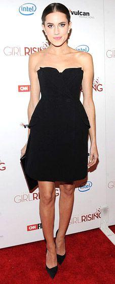 Allison Williams in Christian Dior