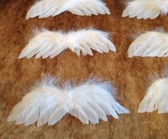 angel wing center pieces   ... tags angel themed baby shower ...