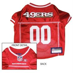 San Francisco 49ers Dog Jersey with free shipping bdef11a65
