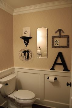 Attractive This With G Instead Of Au0027s May Be Are Spare Bathroom. Half Bath DecorHalf  ...