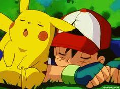 Ash and Pikachu