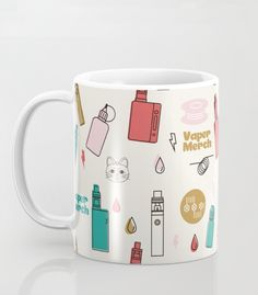 Mugs, Cat, Tableware, Pattern, Stuff To Buy, Design, Products, Dinnerware, Cups