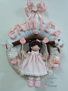 Guirlanda Camila Girls Dresses, Flower Girl Dresses, Camila, Wedding Dresses, Flowers, Eliana, Instagram, Blog, Felt Dolls