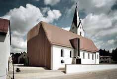 A new church for a growing church i St. peter, Wenzenbach (2003) by #Bruckner & Brückner architects, Tirschenreuth   Würzburg / Architects