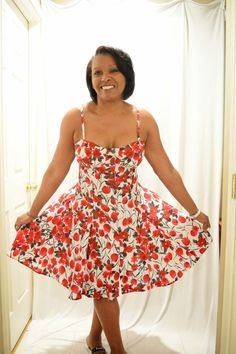 A.D. Lynn = Sew-To-Fit: Flower Power...McCalls 6740 Pattern Review
