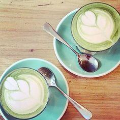Perfect way to start the day  #matchalatte www.zengreentea.com.au #matcha #superfood