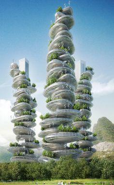 Innovative Farmscraper Concept
