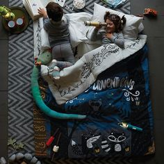 Storybook Double Sleeping Bag in All New | The Land of Nod